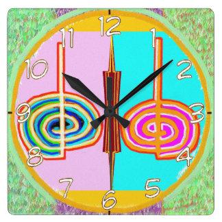 Art101 KREEYA : Karuna Reiki Healing Symbol Wall Clock