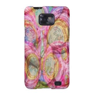 Art101 PINK Graffiti  - Exotic Sea Shells Samsung Galaxy SII Case