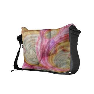 Art101 PINK Graffiti  - Exotic Sea Shells Courier Bag