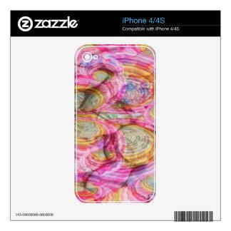 Art101 PINK Graffiti  - Exotic Sea Shells iPhone 4 Decal