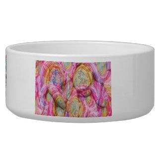 Art101 PINK Graffiti  - Exotic Sea Shells Dog Bowls