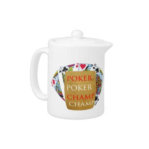 ART101  Poker Champ  - Art n Designer Text