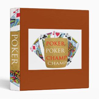 ART101  Poker Champ  - Art n Designer Text Binder
