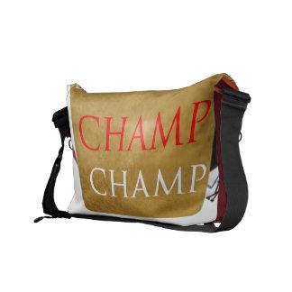 Art101 Poker Champ Courier Bags