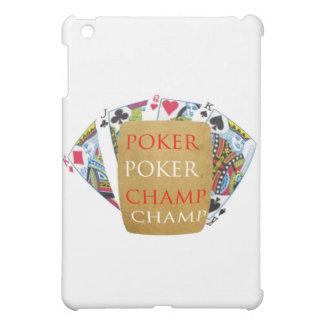 ART101 Poker Champion - Zazzle PlayingCards design iPad Mini Covers