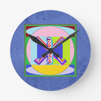 Art101 Reiki n Karuna Healing Symbol Collection Round Wallclock