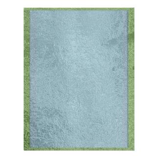 Art101  Satin Silk Rich Blues Letterhead