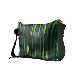 Art101 Shades of Green Sparkle  - Art by Navin Courier Bag