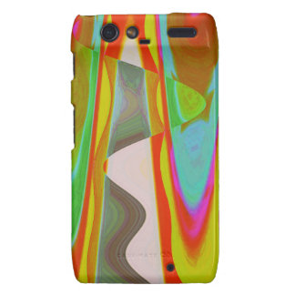 ART101 Shadow Talk Graphic Abstract Droid RAZR Cover