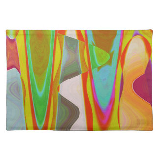 ART101 Shadow Talk Graphic Abstract Placemat