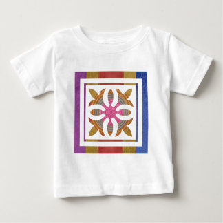ART101 Simple Arts Backdesign Prints Baby T-Shirt