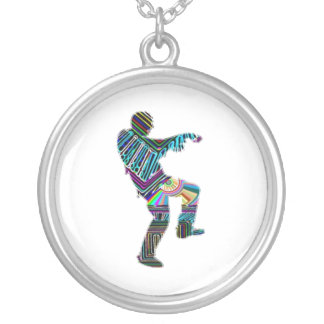 ART101 Zombie Dance by Navin Personalized Necklace