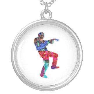 ART101 Zombie Dance by Navin Custom Necklace