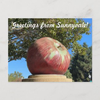 Art2Celebrate: Greetings from Sunnyvale Postcard
