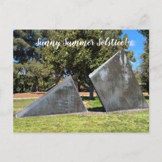 Art2Celebrate: Sunny Summer Solstice! Postcard