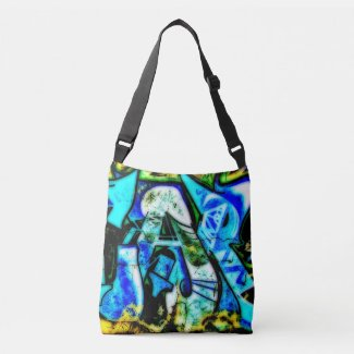 Art2Go Bags A #2 - All-Over-Print Cross Body Bag
