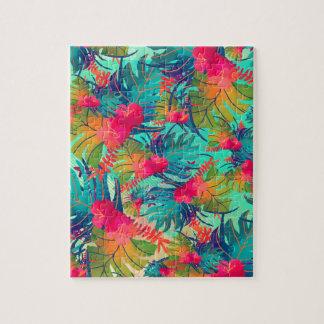 art-01 floral puzzle
