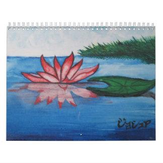 Art 15 Month Calendar