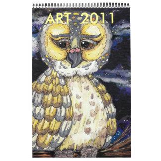 ART  2011 Calendar