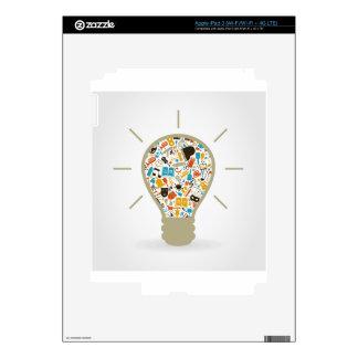 Art a bulb iPad 3 decals