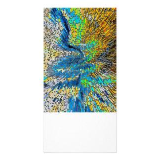 Art Abstract 3D Card
