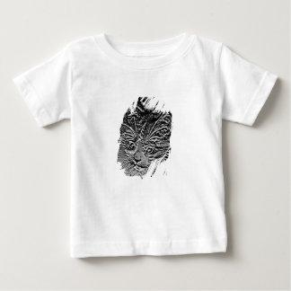 Art Abstract Cat Baby Tee Shirt