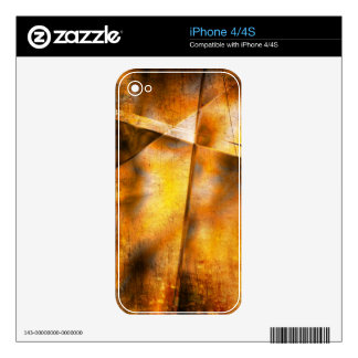 art abstract colorful background decal for the iPhone 4