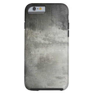 art abstract grunge black and white textured iPhone 6 case
