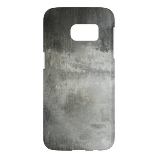 art abstract grunge black and white textured samsung galaxy s7 case