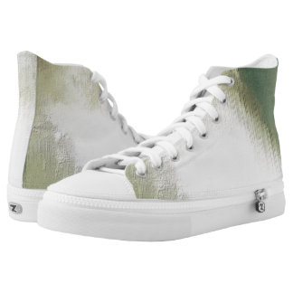 art abstract grunge dust textured background High-Top sneakers