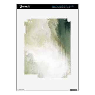 art abstract grunge dust textured background iPad 3 decal