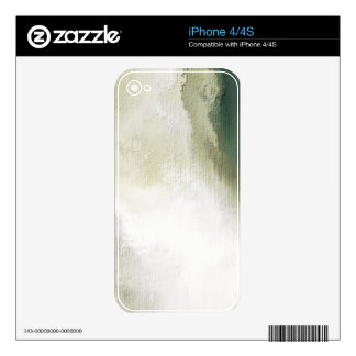 art abstract grunge dust textured background iPhone 4S decal