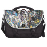 art abstract laptop bag