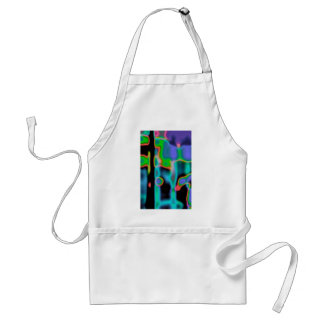 Art Abstract Light Graphic Aprons