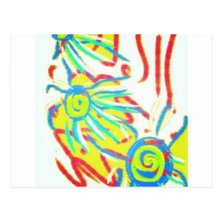 #art #abstract postcard