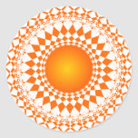 art abstract  repeat pattern  design sticker