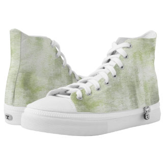 art abstract watercolor background on paper 10 High-Top sneakers