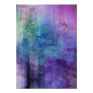 art abstract watercolor background on paper 2 poster