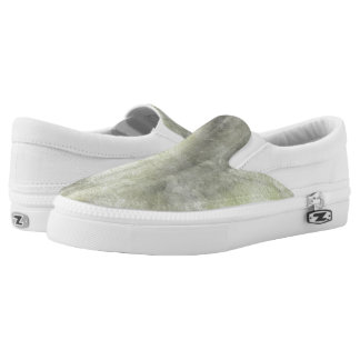 art abstract watercolor background on paper 2 Slip-On sneakers