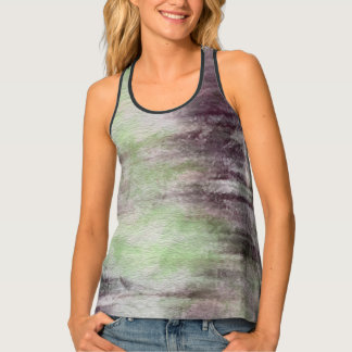art abstract watercolor background on paper 2 tank top