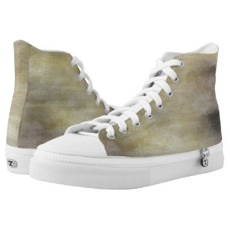 art abstract watercolor background on paper 3 High-Top sneakers