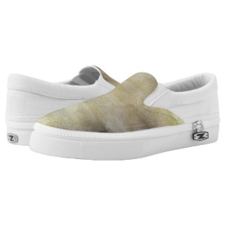 art abstract watercolor background on paper 3 Slip-On sneakers