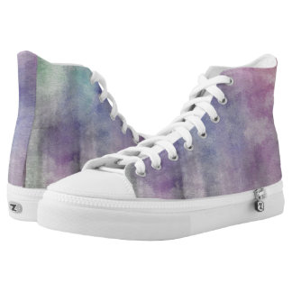art abstract watercolor background on paper 5 2 High-Top sneakers