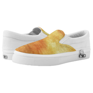 art abstract watercolor background on paper 5 Slip-On sneakers