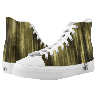 art abstract watercolor background on paper 6 High-Top sneakers