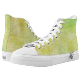 art abstract watercolor background on paper 8 High-Top sneakers