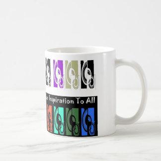 Art an inspiration to all Mug