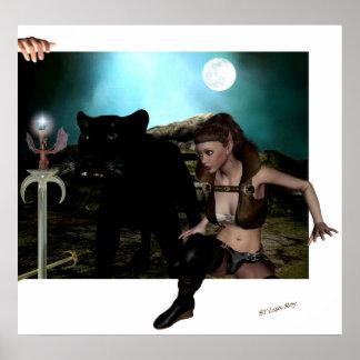 Art and fantasy lives Poster