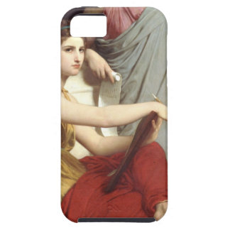 Art and Literature by William-Adolphe Bouguereau iPhone 5 Covers