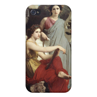 Art and Literature - William-Adolphe Bouguereau Cases For iPhone 4
